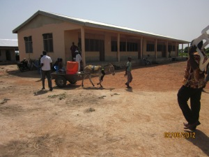 Paga Community SHS teaching block