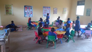 Ahmadiyya July 2017 A FURNISHED KG1 CLASSROOM BY GSA