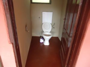Kenyasi no 2 teachers quartersNEW WATER CLOSET TOILET FACILITY IN THE BUILDING